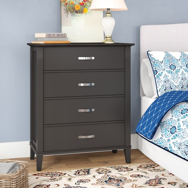 Philippa 4 Drawer Dresser by Andover Mills