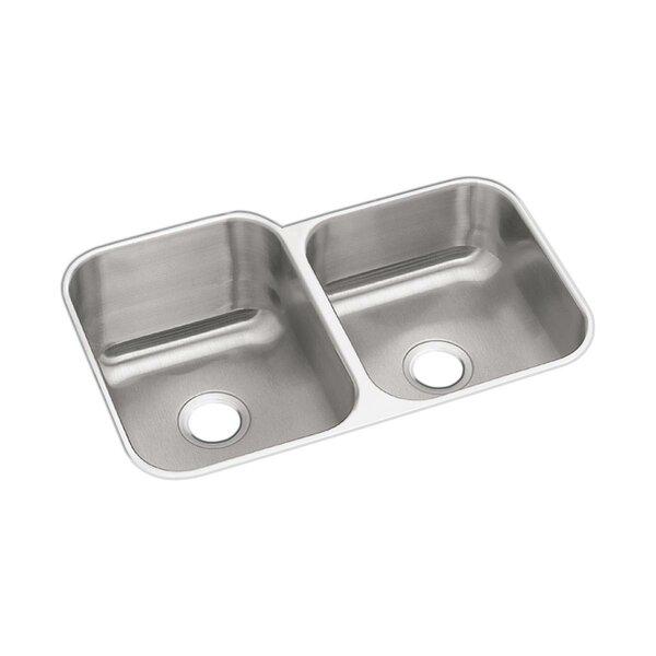 Dayton 32 L x 21 W Double Basin Undermount Kitchen Sink