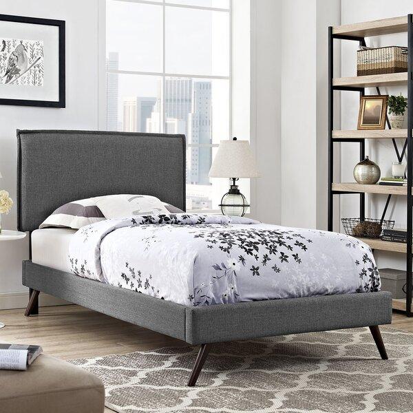 Sardina Upholstered Platform Bed by Ebern Designs