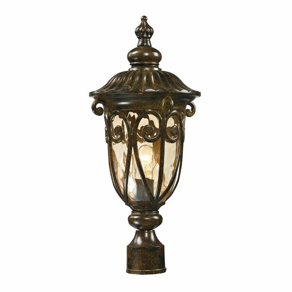 Boyd Outdoor 1-Light Lantern Head by Fleur De Lis Living