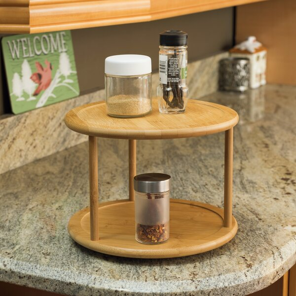 2 Tier Lazy Susan by Home Basics