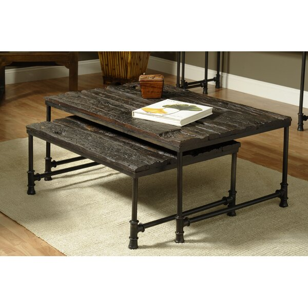 Saal 2 Piece Coffee Table Set by William Sheppee