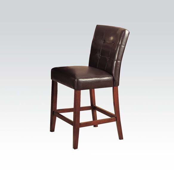 Elim Genuine Leather Upholstered Dining Chair (Set of 2) by Red Barrel Studio