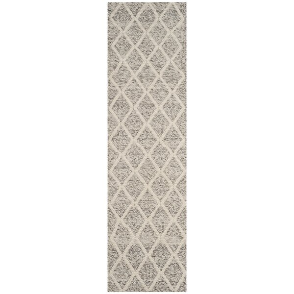 Billie Hand-Tufted Ivory/Stone Area Rug by Laurel Foundry Modern Farmhouse