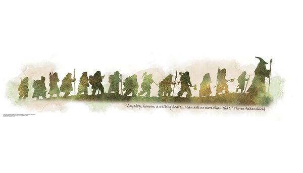 Peel and Stick Giant The Hobbit Quote Wall Decal by Room Mates
