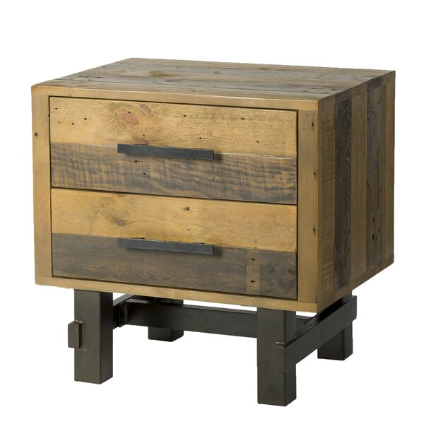Langner 2 Drawer Nightstand By Union Rustic