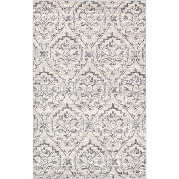 Ezequiel Ivory Area Rug by Bungalow Rose