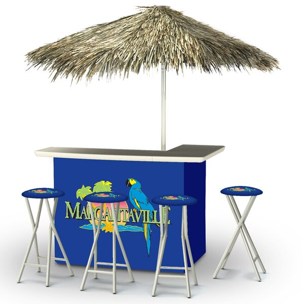 Wallace Tiki Bar Set by Bayou Breeze