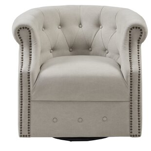 Price Check Ansley Swivel Barrel Chair By House of Hampton