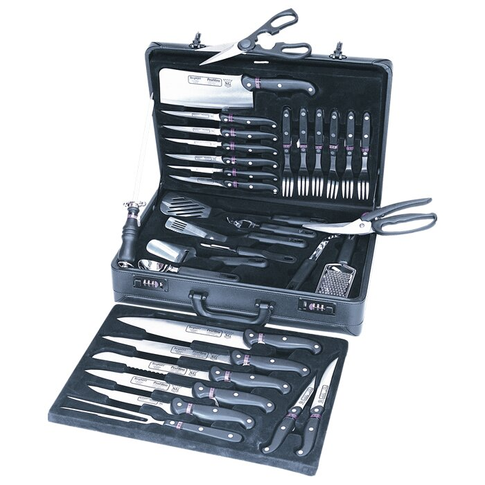 berghoff studio 32 piece knife case set & reviews | wayfair
