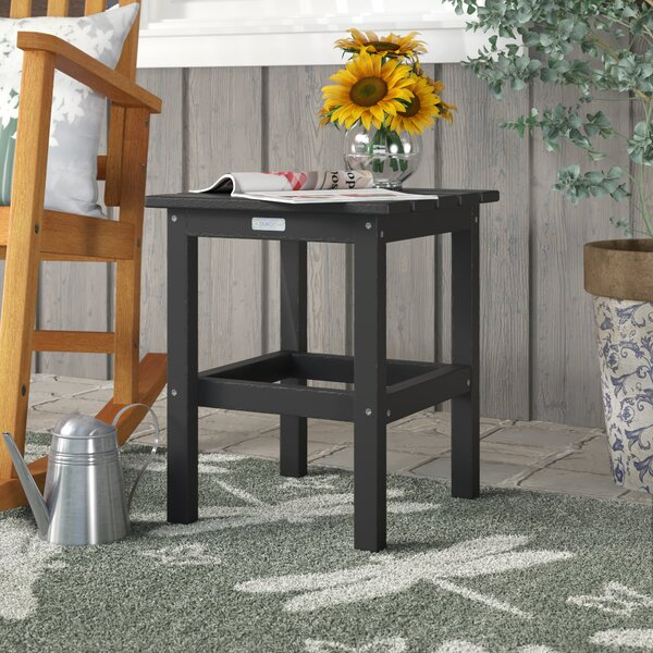 Parkside Plastic Side Table by August Grove