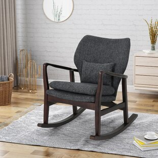 Winchell Rocking Chair Charlton Home