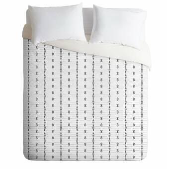 East Urban Home Holli Zollinger French Linen Tribal Stripe Comforter Set Wayfair
