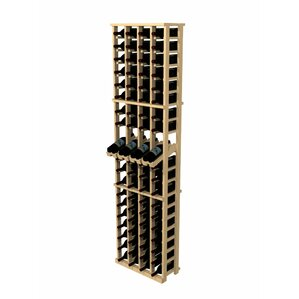 Rustic Pine 80 Bottle Wall Mounted Wine Rack by Wine Cellar Innovations