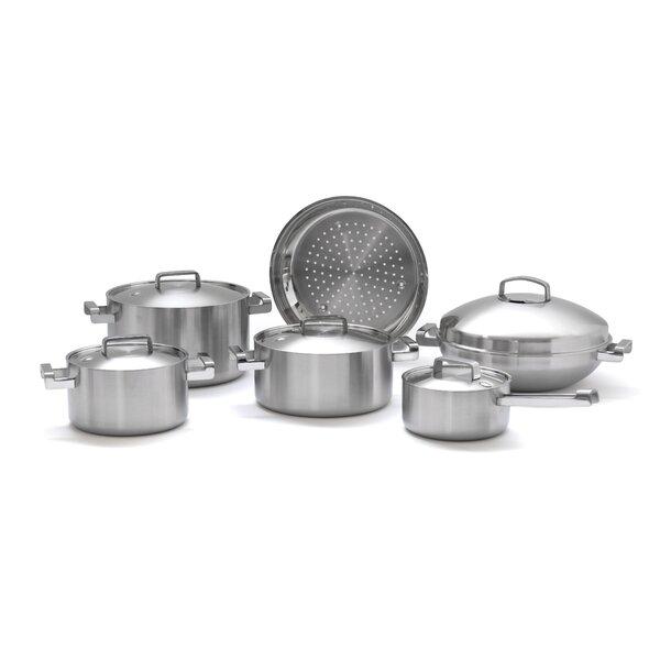 Neo 10-Piece Cookware Set by BergHOFF International