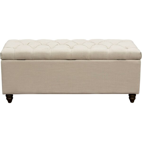 Boydston Tufted Storage Bench by Darby Home Co Darby Home Co