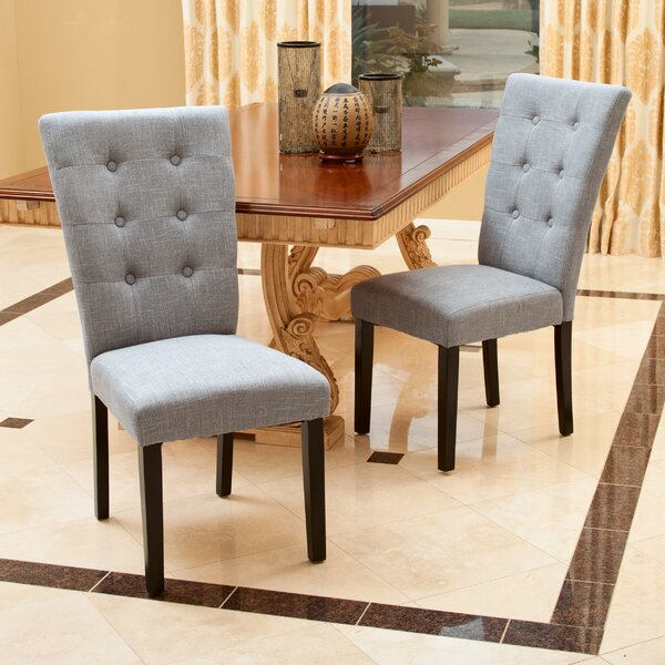 Jeremias Upholstered Dining Chair (Set of 2) by Ivy Bronx