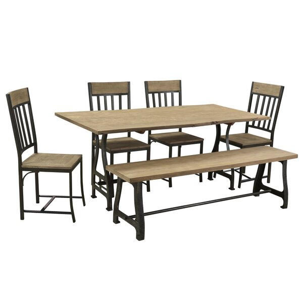 Ella 6 Piece Dining Set by 17 Stories