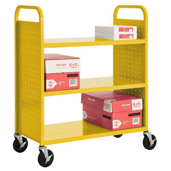 Book Cart By Sandusky Cabinets.