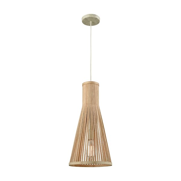 Rothbury 1-Light Cone Pendant by Bay Isle Home