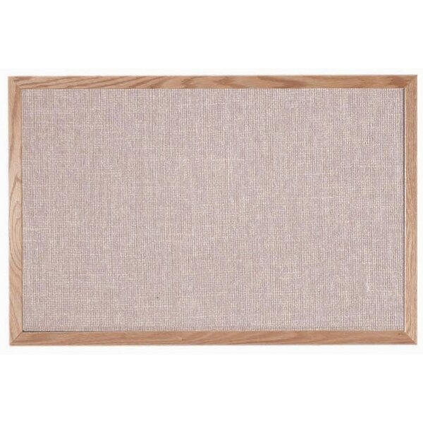 Designer Fabric Quartz Wall Mounted Bulletin Board by AARCO