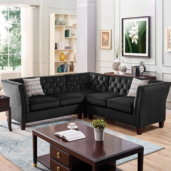 Millsaps Modern Sectional by House of Hampton