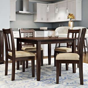 Best Primrose Road 5 Piece Dining Set by Alcott Hill