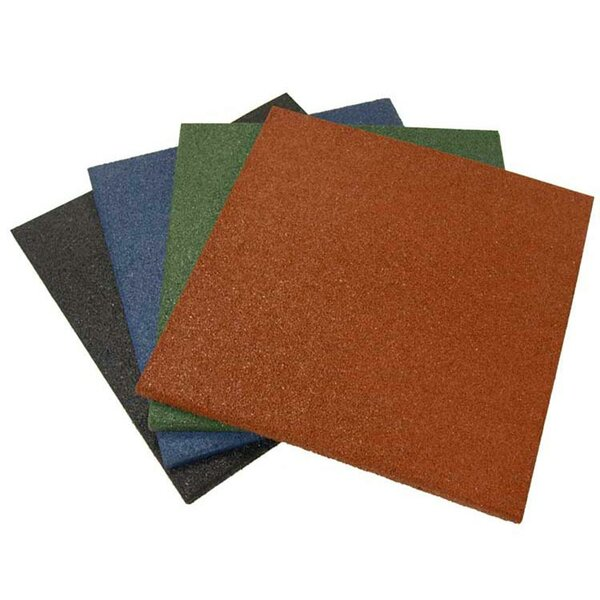Eco-Sport Interlocking Flooring Rubber Tile (Set of 24) by Rubber-Cal, Inc.