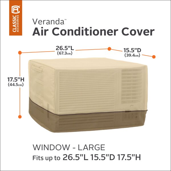 Water Resistant Air Conditioner Cover by Red Barrel Studio