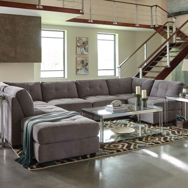 Shakir Modular Sectional With Ottoman By Red Barrel Studio