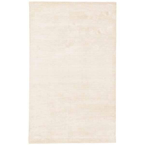 Eastvale Solid Hand Woven Cream Area Rug by Breakwater Bay