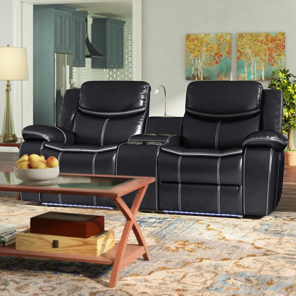 Faulk Reclining Pillow Top Arms Loveseat By Red Barrel Studio