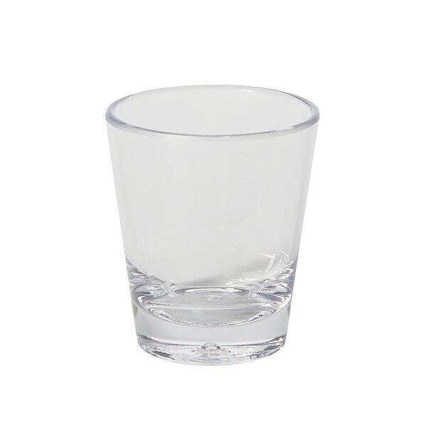Mia 2 oz. Plastic Shot Glass (Set of 24) by Winston Porter
