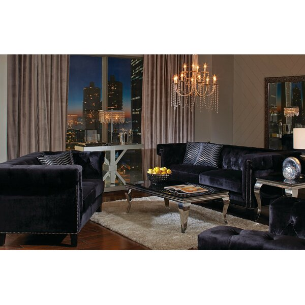 Reinaldo 3 Piece Living Room Set by Everly Quinn