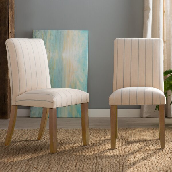 Holden Heights Parsons chair by Rosecliff Heights