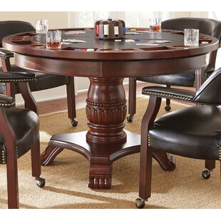 Mcbride Dining Table With Poker Set