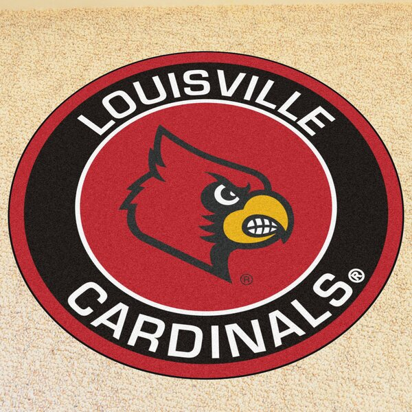 NCAA University of Louisville Roundel Mat by FANMATS