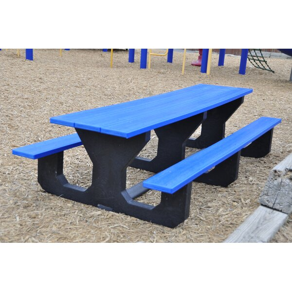 Toddler Recycled Plastic Picnic Table by Frog Furnishings