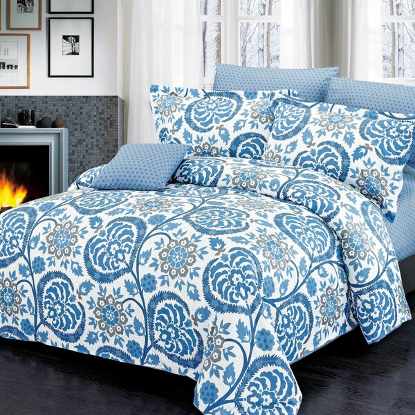 Palmer Reversible Duvet Set by North Home