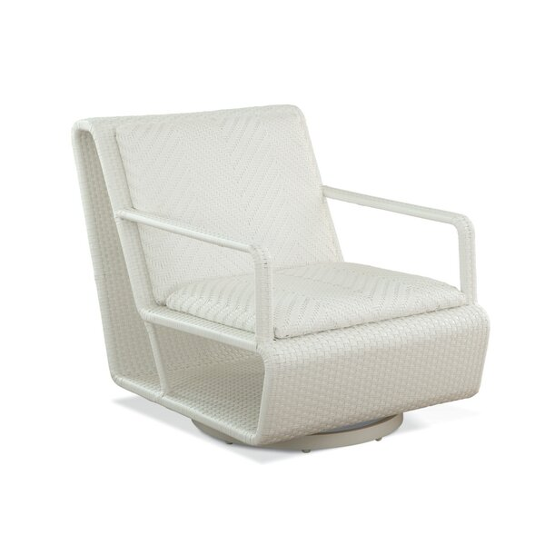 Montauk Swivel Patio Chair with Cushions by Braxton Culler
