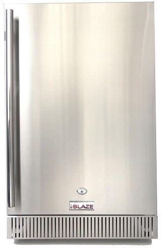 Blaze 20.5-Inch 4.1 Cu. Ft. Undercounter Compact Refrigerator By Blaze Grills.