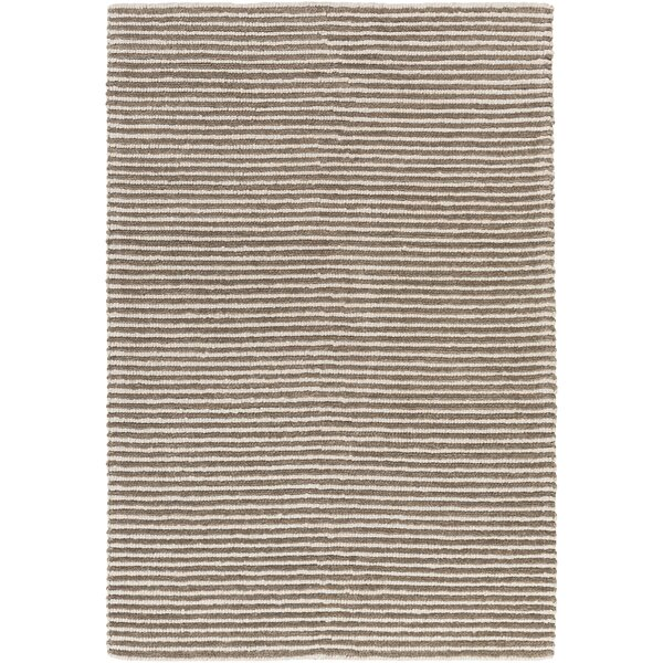 Acton Hand-Woven Camel/White Area Rug by Langley Street