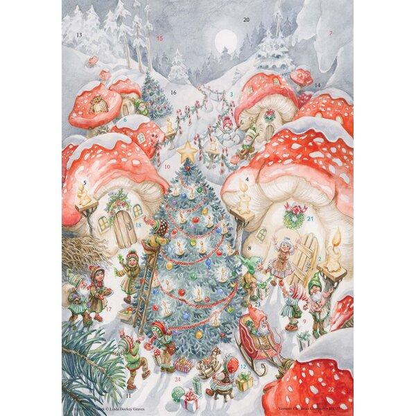 Holiday Hamlet Advent Calendar by The Holiday Aisle