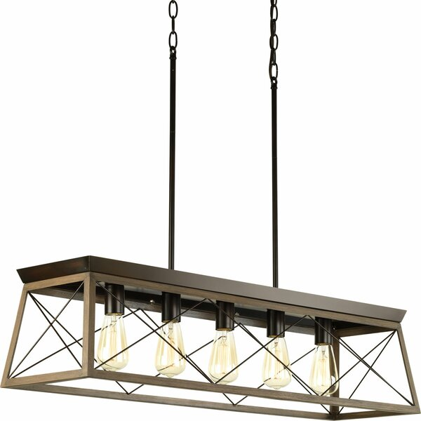Delon 5-Light Kitchen Island Pendant & Reviews