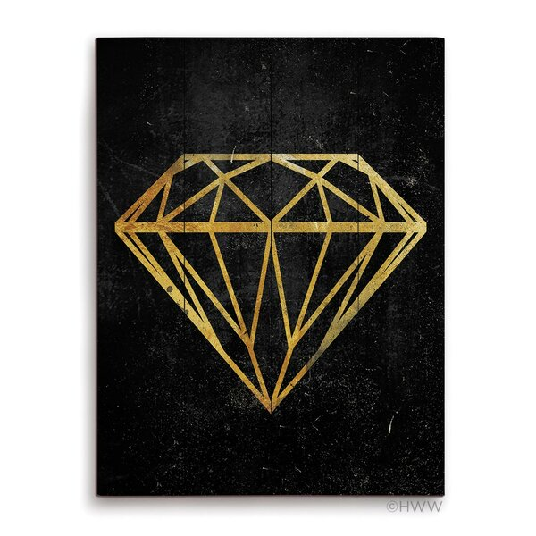 Diamond Graphic Art Plaque by Click Wall Art