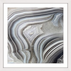 'Valley Of Waves' Framed Painting Print by Marmont Hill