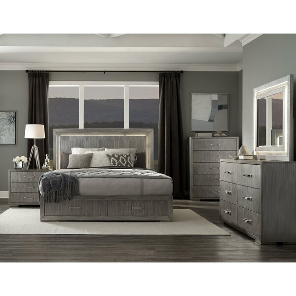 Weaubleau Platform 5 Piece Bedroom Set by Everly Quinn