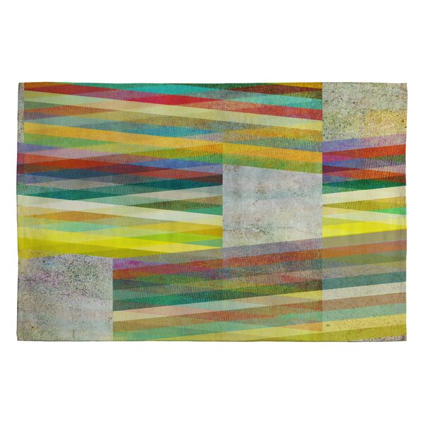 Graphic 9 Grey Area Rug by East Urban Home