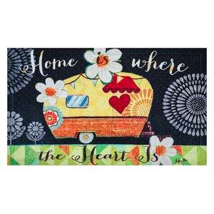 Avocet Home Heart Embossed Doormat