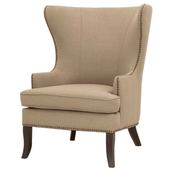 Lesparre Wingback Chair by One Allium Way